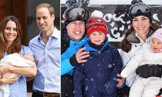 Prince William and Kate Middleton: Their sweet family portraits with George and Charlotte