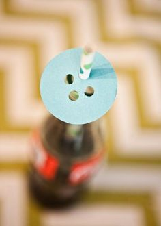 Cute as a Button 1st Birthday Party - Button Party Ideas |