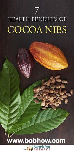 7 Interesting Health Benefits of Kakaonibs - Diet and Nutrition Cacao Health Benefits, Cocoa Benefits, Beans Benefits, Nutrition Articles, Diet And Nutrition, Nutrition Tracker, Cocoa Fruit, Cocoa Nibs, Fruit Photography