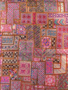 Vintage patchwork Indian wall hang by shopgypsyriver on Etsy, $200.00