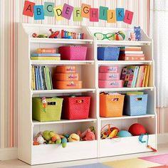 Organizar la pieza de los niños