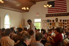 By Kelley Libby/Tanner Latham - Libby visits a shape note sing event in the Shenandoah Valley of Virginia. Sometimes this style of singing is referred to as  Sacred Harp. That's because there's an old tune book called The Sacred  Harp, and most shape note singers use it, especially in the deep South.