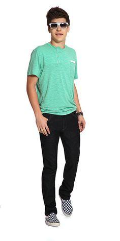 M2A Jeans   Spring Summer 2014   Teen Boy Lookbook   Pimavera Verão 2014 • calça; jeans; camiseta.