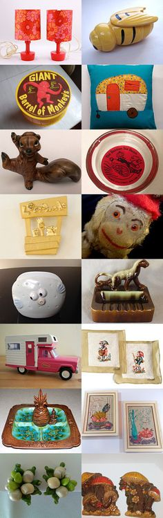 A Touch Of Whimsy With TeamKitsch. by livingavntglife on Etsy--Pinned with TreasuryPin.com