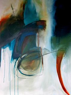 Jane Robinson Abstract Painting, Artwork