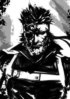 """アルス's """"Big Boss"""" from Metal Gear Big Boss Metal Gear, Snake Metal Gear, Metal Gear Solid Series, Metal Gear Survive, Jack Johns, Character Art, Character Design, Kojima Productions, The Big Boss"""