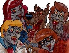 zombie scoobie doo gang
