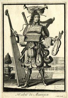 Nicolas Larmessin. Bassoon and Serpent!