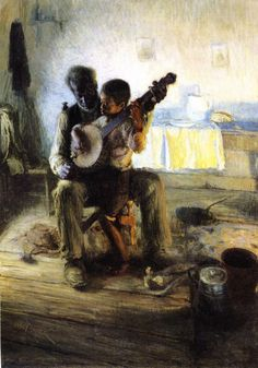 The Banjo Lesson, 1893 by Artist Henry Ossawa Tanner