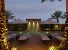 The #Al #Hamra #Maison #private #pool at the stunning #Amanjena in #Marrakech. #travel #F1S #accommodation