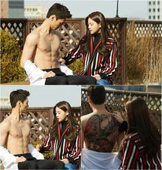 "New Stills of ""Please Come Back Mister"" Show Off Lee Tae Hwan's Chocolate Abs Korean Drama Romance, Korean Drama List, Korean Drama Movies, Jung So Min, Asian Actors, Korean Actors, Please Come Back Mister, Lee Tae Hwan, Oh Yeon Seo"