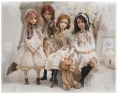 Amazing beautiful Art dolls by Helena Oplakanska