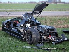 Gumpert Apollo crashed in Brokdorf, Germany