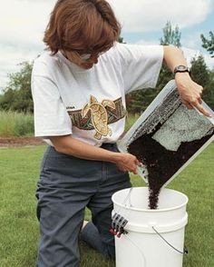 Brewing Compost Tea | Fine Gardening Compost Soil, Compost Tea, Garden Compost, Worm Composting, Fine Gardening, Organic Gardening, Gardening Tips, Gardening Books, How To Make Compost