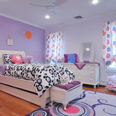 Girls Purple Bedroom Design Ideas, Pictures, Remodel, and Decor - page 6