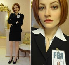 Mulder, it's me. (I will probably never top this costume. This girl is stunning as Scully!!)
