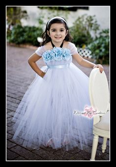 Cinderella Inspired Tutu Dress-conderella, dress, disney princess, tutu dress, costume, halloween