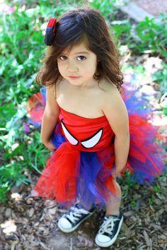 Spidergirl tutu via Etsy.