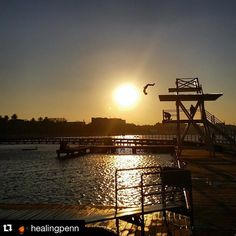Really want to jump off this right now! Repost love to @healingpenn  #livelovegeelong #geelongwaterfront #mtomgeelong  How good is this photo I just snapped! #perfecttiming #geelong #lovegeelong #easternbeach #nofilter #beach #sunset by mtomgeelong http://ift.tt/1JtS0vo