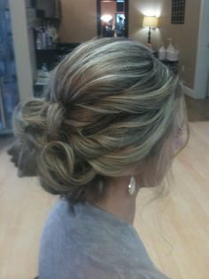 My beautiful up do for my bff's wedding