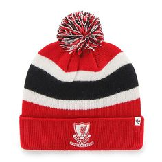 Official Liverpool FC '47 Breakaway Cuff Knit Red