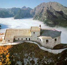 "Hitler's ""eagle's nest"" in Austria, near the german border."