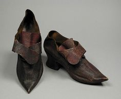 """American Duchess: Spotlight: New """"Fraser"""" Early 18th Century Leather Shoes"""