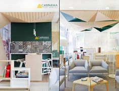 """My House Bank"" branch concept of Cariparma Crédit Agricole by DINN! Bank Interior Design, Banks Office, Bank Branch, Innovation Centre, Retail Concepts, Corporate Interiors, Showcase Design, Commercial Design, Retail Design"