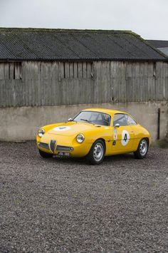 torqueingmag:  1961 Alfa Romeo Giulietta SZBerlinettaCoachwork...