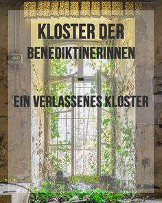 Das Kloster der Benediktinerinnen - ein verlassenes Kloster mitten in Deutschland! Ein wunderschönes Kloster, welches langsam verfällt und welches sich langsam von der Natur zurückgeholt hat. Ein toller Lost Place, den man gesehen habe muss!    Ich zeige dir einige Bilder vom Kloster der Benediktinerinnen - einem der schönsten Lost Places in ganz Rheinland Pfalz!