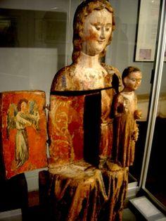 Vierge ouvrante XIVème s Marsal Lorraine Fce