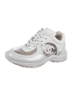 4ee013086342 Chanel CC PVC-Trimmed Sneakers