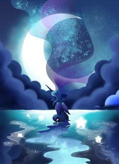 Oasis of Stars-(Princess Luna)
