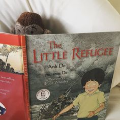 """THE LITTLE REFUGEE: Another minor achievement for the incredible Anh Do! This time he has teamed up with his wife Suzanne to write this incredibly honest kids book. Illustrated by Bruce Whately.  This is a brilliant story of Anh and his family who neeeded to leave Vietnam at the end of the Vietnam/American War. They boarded a boat from Vietnam bound for Australia.....   'A fishing vessel was approaching. It pulled up alongside us and the fishermen jumped on board our boat.  """"Sit down all of…"""