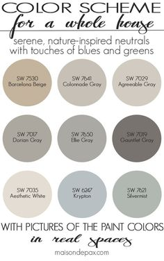 nice cool Paint Color Home Tour: Nature-Inspired Neutrals - Maison de Pax by www.best...