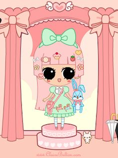 Dibujo Lolita Dulce  ... Sweet Lolita
