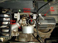 Tecumseh Carburetor Linkage Picture | Tecumseh Series 11 Carb