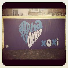 #alphaxidelta xoxi<3 #DIY