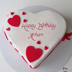 It's the best way to wish birthday to friends and relatives with their name on happy birthday images. Get happy birthday chandan cake images and share with your loved one. Birthday Card With Name, Birthday Cake Writing, Birthday Wishes For Her, Happy Birthday For Him, Birthday Cake With Photo, Cool Birthday Cakes, Happy Birthday Greetings, Birthday Cupcakes, Heart Shaped Birthday Cake