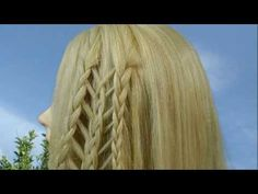 Плетение кос. Weaving braids. - YouTube