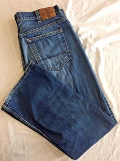 Wrangler Premium Mens Relaxed Fit Jeans 36 x 29 37.5 x 30 Light