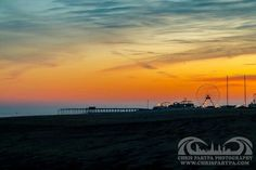 Colorful O.C. Md. sunset