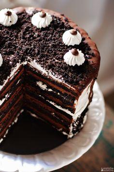 A Cozinha Coletiva: Bolo de Chocolate {e Marshmallow} em 18 camadas!