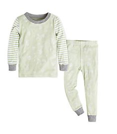 3a63982c16 Baby Succulents and Bees Organic Cotton Pajama Set