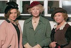(2005) Agatha Christie's 'A Murder is Announced' stars Zoe Wanamaker as Letitia Blacklock,  Geraldine McEwan as Miss Jane Marple, and Elaine Paige as Dora Bunner  - Google Search