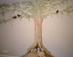 Peter Rabbit - Tree Murals