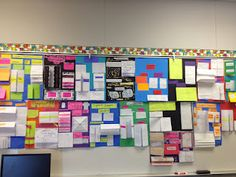 Year end math review/student foldable projects  --  assign each student a chapter from the math book to create a foldable project/poster. Display and use as a year-end review.