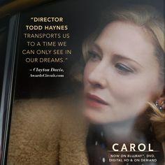 #CateBlanchett as Carol