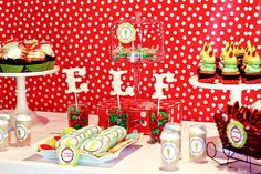 Buddy the ELF Christmas Party!,Kara's Party Ideas...I think I'm in love! Elf is my very favorite :)