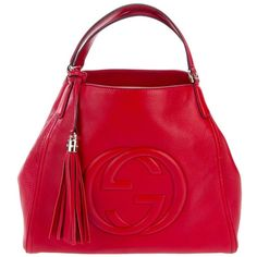 I love the deep red of this LOUIS VUITTON ANTHEIA IXIA bag! The ...